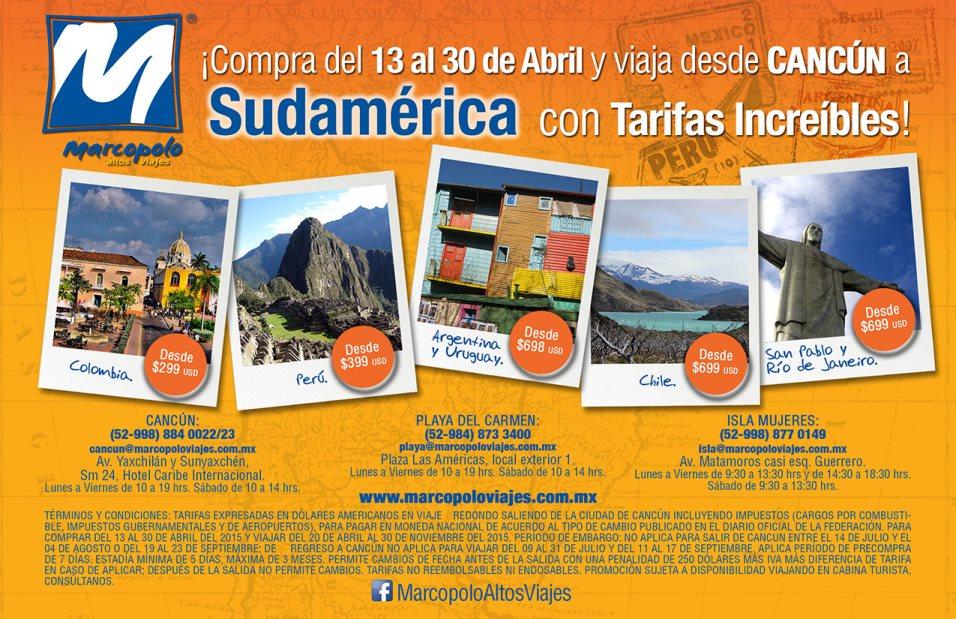 Promo Sudamerica